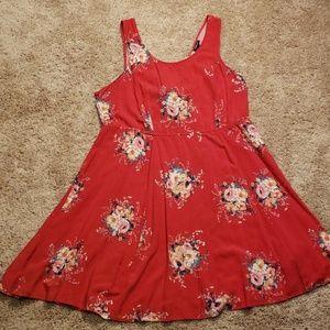 NWOT Torrid floral dress